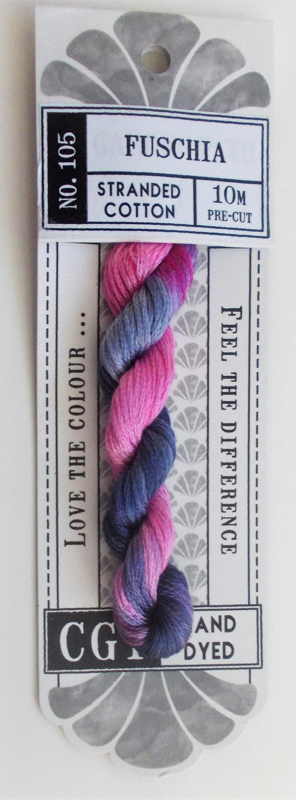Cottage Garden Threads - 105 Fuschia Stranded Cotton
