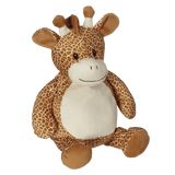 Personalised Embroidery Buddy - Gerry Giraffe - Debart Designs Embroidery
