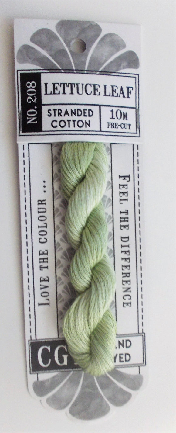 Cottage Garden Threads - 208 Lettuce Leaf Stranded Cotton