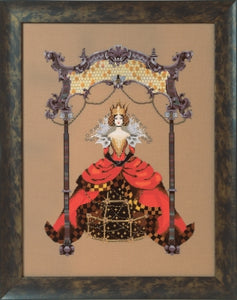 Mirabilia Designs - The Queen Bee MD171 cross stitch chart.