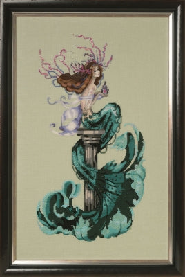 Mirabilia Designs - Mermaid Perfume MD173 cross stitch chart.