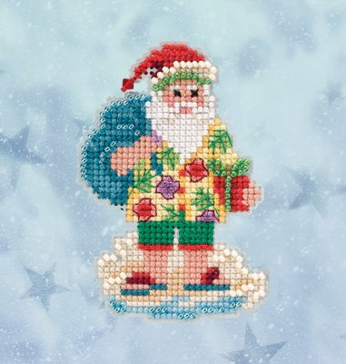 Mill Hill Beaded Cross Stitch Kit - 2020 Series - Santa Cruise