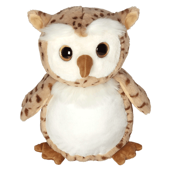 Personalised Embroidery Buddy - Clara Classic Collection - Oberon Owl - Debart Designs Embroidery