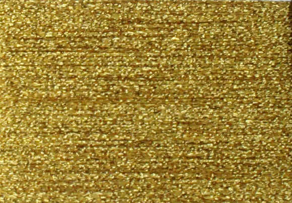 PB01 Bright Gold  Rainbow Gallery Petite Treasure Braid - Debart Designs Embroidery