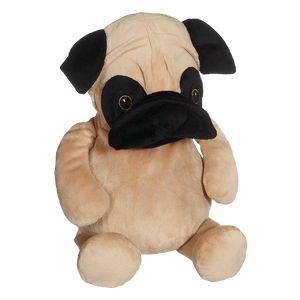 Personalised Embroidery Buddy - Parker Pug - Debart Designs Embroidery