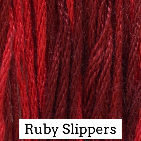 Classic Colorworks Stranded Cotton - Ruby Slippers