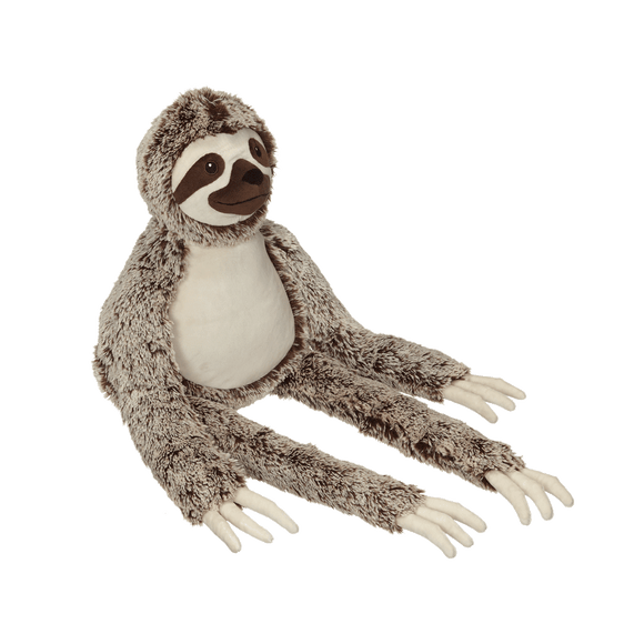 Personalised Embroidery Buddy - Silvano long legged Sloth - Debart Designs Embroidery