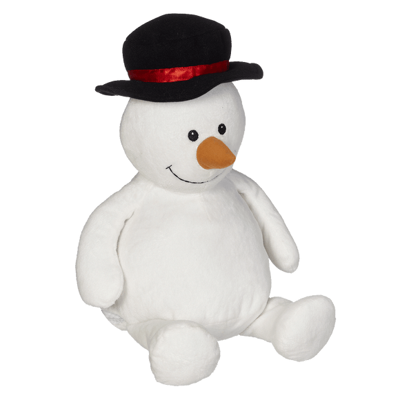 Personalised Embroider Buddy - Sonny Snowman