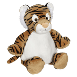 Personalised Embroidery Buddy - Tory Tiger - Debart Designs Embroidery