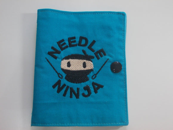 Needle Ninja - Needle book - Blue