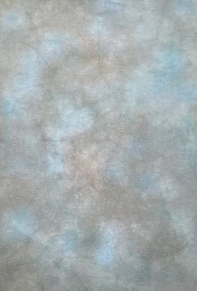 Fiberlicious Hand Dyed Fabric -  18 count Aida - Once In A Blue Moon - Debart Designs Embroidery
