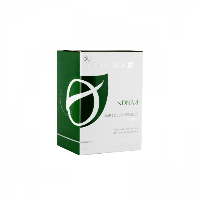 Nisim Newtrino nDNA 8 for Men's Hair 60 Tabs