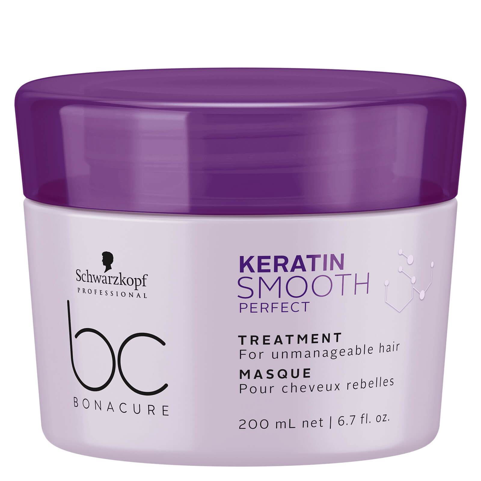 Schwarzkopf BC Bonacure Keratin Smooth Perfect Treatment 200ml