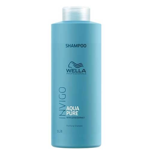Wella Invigo Aqua Pure Purifying Shampoo - 1000ml