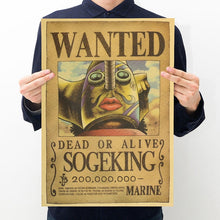 Load image into Gallery viewer, One Piece Wanted Posters