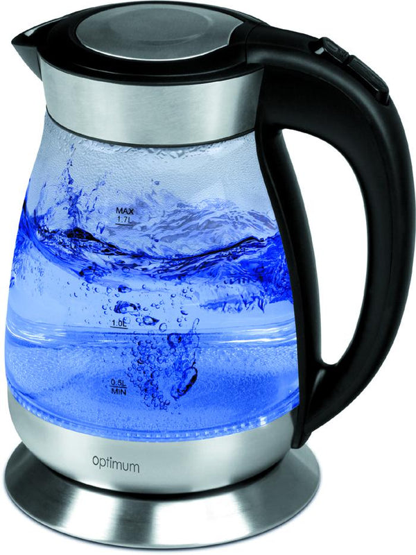 Optimum CJ-3001- Glass Kettle - 1850-2200W, 1.7L