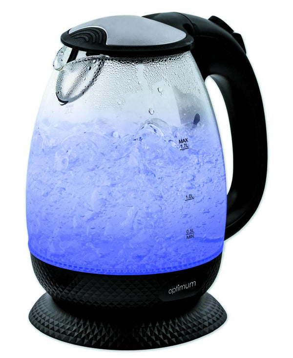 Optimum CJ-3002- Glass Kettle - 1850-2200W, 1.7L
