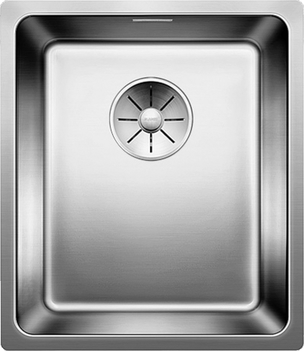 BLANCO ANDANO 340-U- 522956 Undermount Stainless steel Kitchen Sink with remote controlled strainer