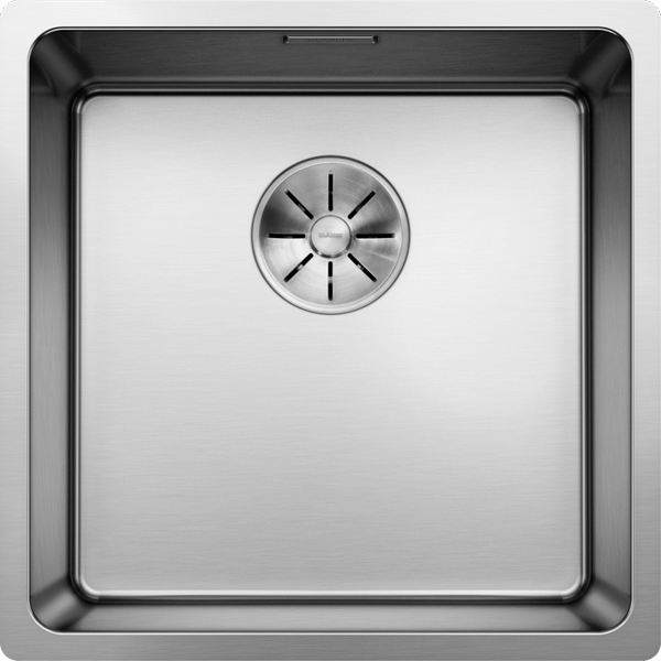 Blanco Andano 400-U - 522960 Stainless Steel Undermount Kitchen Sink with InFino remote controlled drain system
