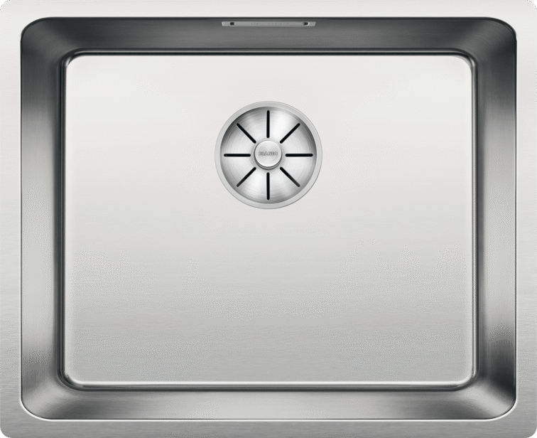 BLANCO ANDANO 500-U - 522968 Undermount Stainless steel Kitchen Sink with InFino remote controlled drain system