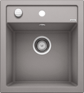 Blanco Dalago 45- 517157 Alumetallic SILGRANIT In-Set kitchen sink with remote controlled strainer