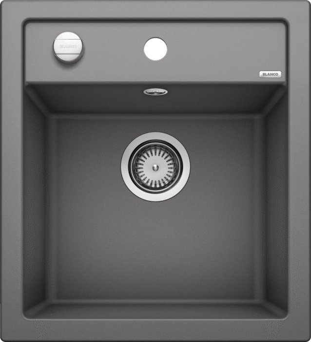 Blanco Dalago 45- 518846 Rock grey SILGRANIT In-Set kitchen sink with remote controlled strainer