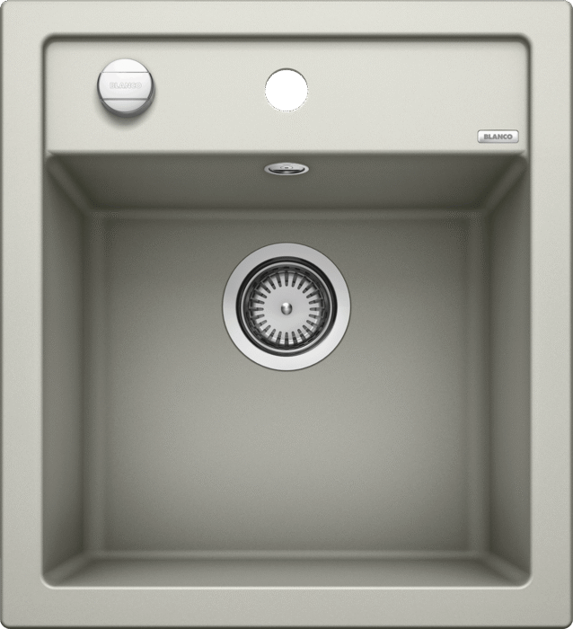 Blanco Dalago 45- 520543 Pearl grey SILGRANIT In-Set kitchen sink with remote controlled strainer