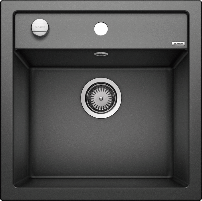Blanco Dalago 5- 518521 Anthracite SILGRANIT In-Set kitchen sink with remote controlled strainer