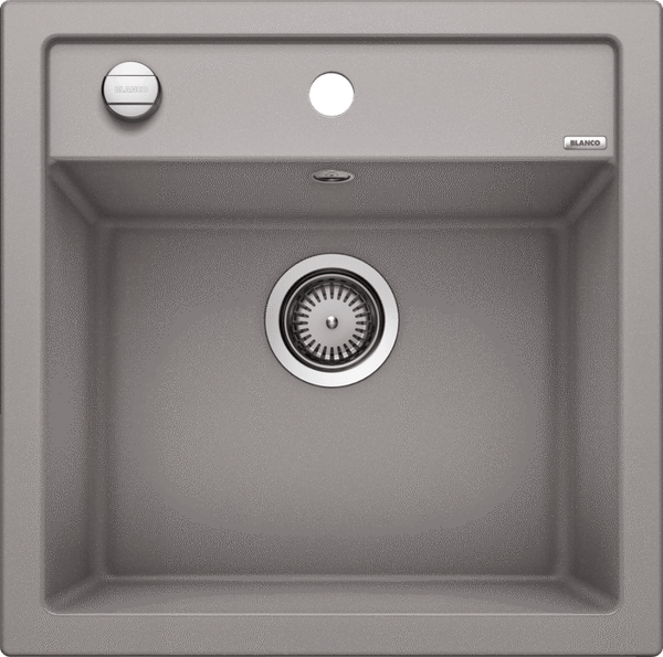 Blanco Dalago 5- 518522 Alumetallic SILGRANIT In-Set kitchen sink with remote controlled strainer