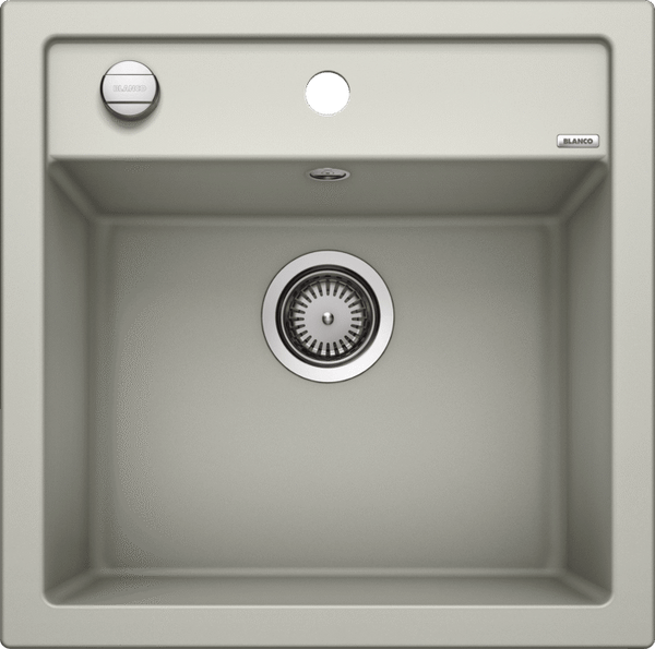 Blanco Dalago 5- 520544 Pearl grey SILGRANIT In-Set kitchen sink with remote controlled strainer