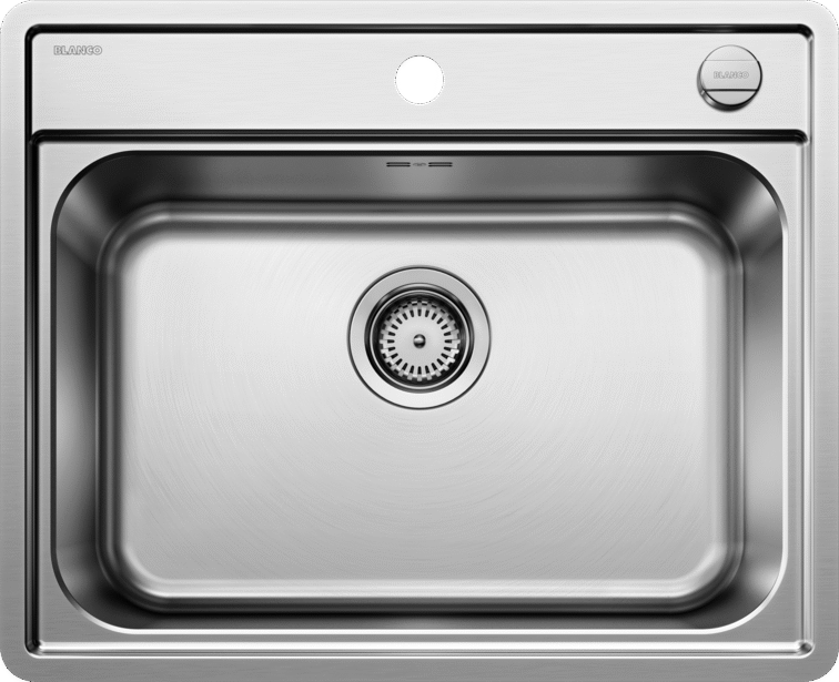 BLANCO LEMIS 6-IF 525109 Stainless Steel + remote strainer control Inset/Flush mount Kitchen Sink