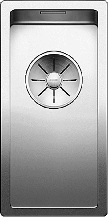 Blanco CLARON 180-U  - 521565 Stainless Steel Undermount Kitchen Sink with InFino Drain system