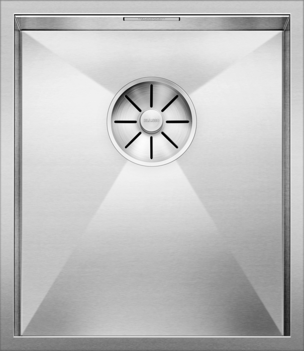 BLANCO ZEROX 340-U - 521583 Stainless steel Undermount Kitchen Sink with InFino drain system