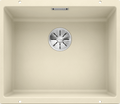 Blanco Subline 500-U- 523437 Jasmine Undermount Kitchen Sink in SILGRANIT - Infino drain system