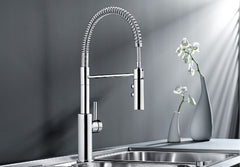 BLANCO CATRIS-S CHROME 521476 Pull-Out Kitchen Tap