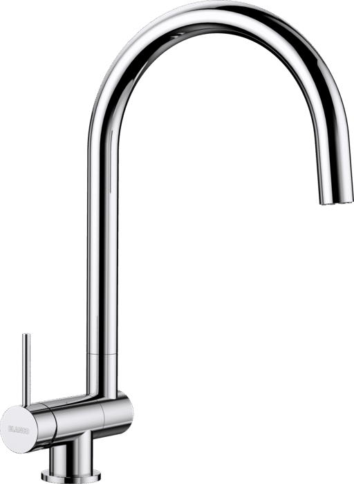 BLANCO CORESSA-F - 521544 Chrome Kitchen Tap- Lever left