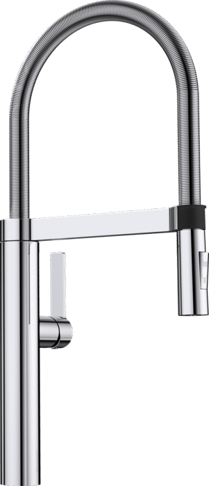 BLANCO CULINA-S- 517597 Chrome Pull-Out Kitchen Tap