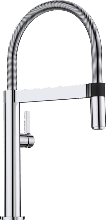 BLANCO CULINA-S MINI - 519843 Chrome Pull-Out Kitchen Tap