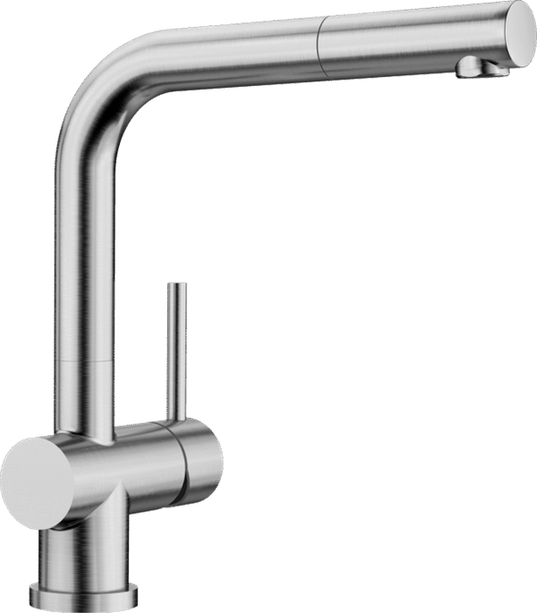 BLANCO LOMIS-S - 518716 Pull Out Brushed Stainless steel Kitchen Tap
