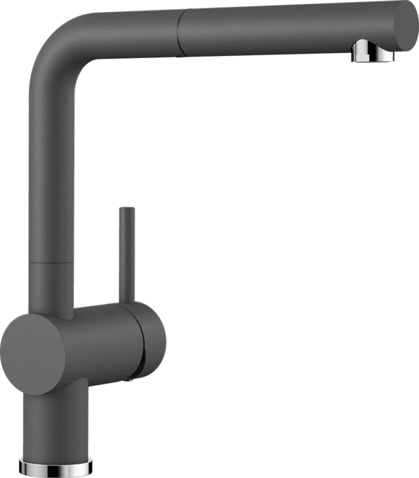 BLANCO LINUS-S PULL-OUT ROCK GREY 518813 Kitchen Tap