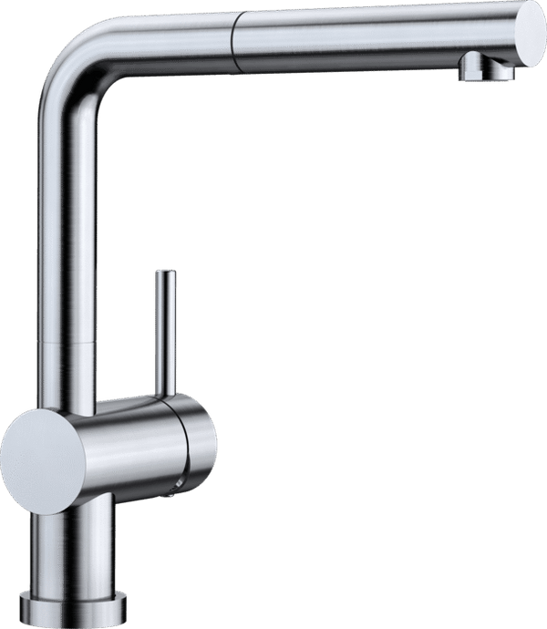 BLANCO LINUS-S-F - 514024 Stainless steel Pull Out Kitchen Tap
