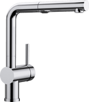 BLANCO LINUS-S VARIO PULL-OUT CHROME 518406 Kitchen Tap