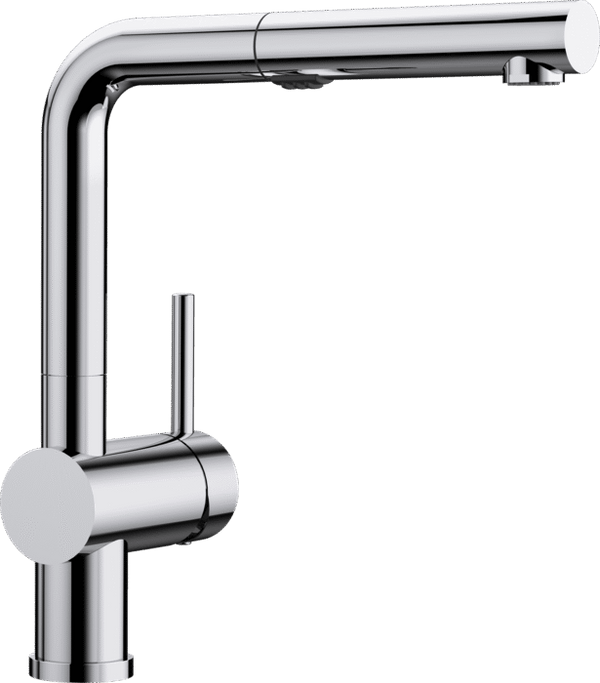 BLANCO LINUS-S VARIO PULL-OUT CHROME 518406 Kitchen Tap with spray function