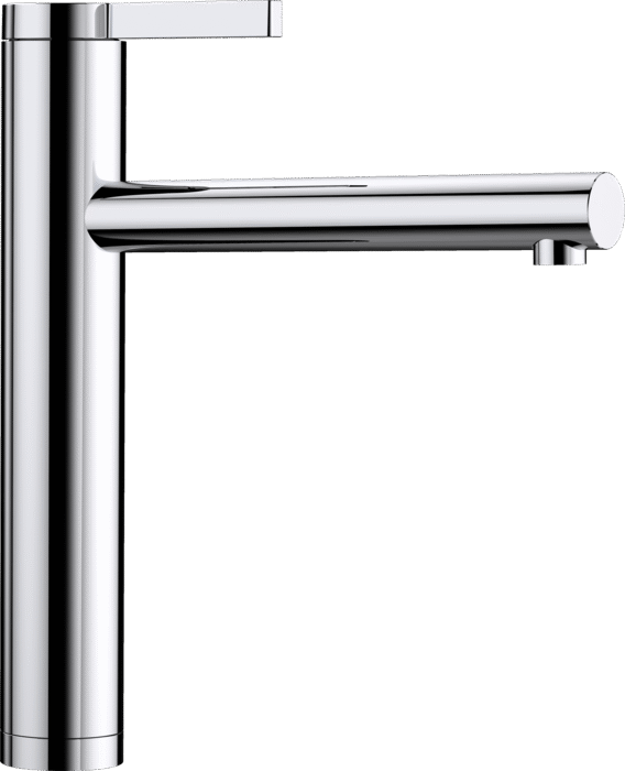 BLANCO LINEE - 517594 Chrome Single lever High pressure tap