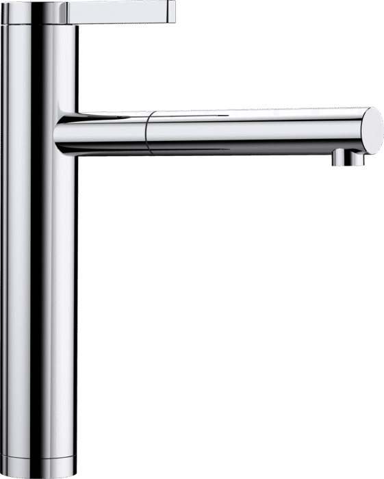 BLANCO LINEE-S 517591 Chrome Pull-Out Single lever High pressure tap
