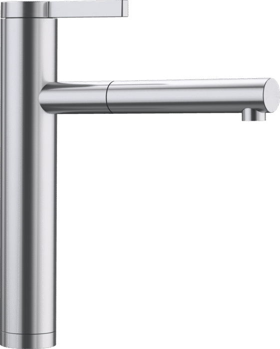 BLANCO LINEE-S 517592 Polished Stainless steel Pull-Out Single lever High pressure tap