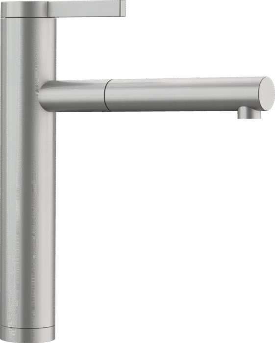 BLANCO LINEE-S 517593 Matt Stainless steel Pull-Out Single lever High pressure tap