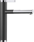 BLANCO LINEE-S 518438 Anthracite Silgranit Pull-Out Single lever High pressure tap