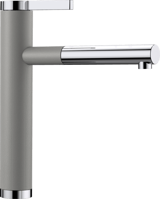 BLANCO LINEE-S Alumetallic Single lever mixer tap High Pressure 518439