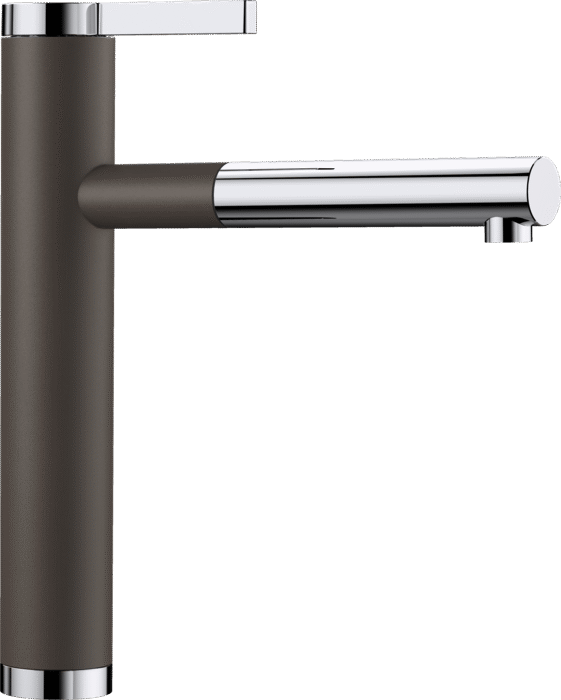 BLANCO LINEE-S 518445 Coffee Silgranit Pull-Out Single lever High pressure tap